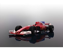2017 Formula One Car - Red