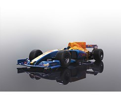 2017 Formula One Car - Blue