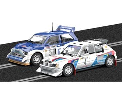 Monte Carlo Rally - Peugeot 205 T16 E2 and MG Metr