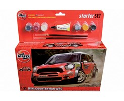 Mini Countryman WRC starter 1:32