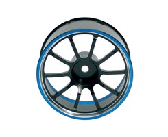 Wheel-Steer Alu. M12 Blue