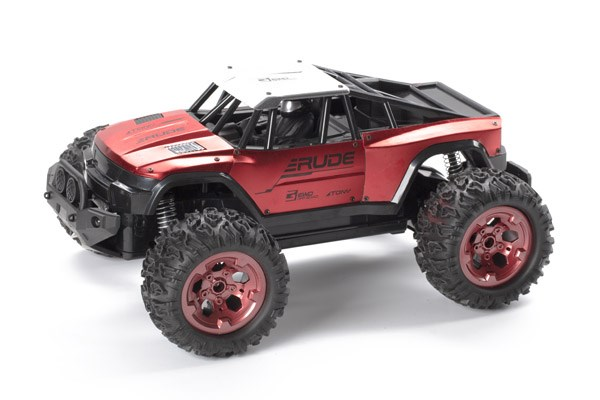 Rude Off-Road 1:12 2,4GHz R/C metallic red RTR