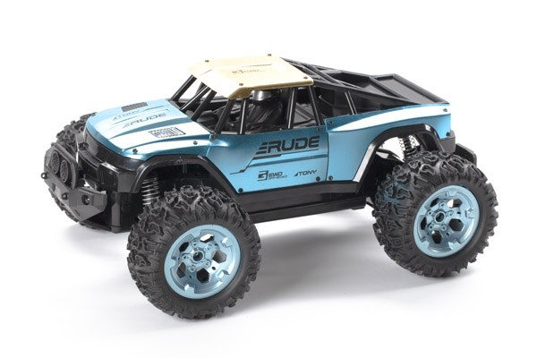 Rude Off-Road 1:12 2,4GHz R/C metal. blue/gold RTR