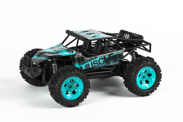 Muscle Off-Road 1:12 2,4GHz R/C met. turquoise RTR