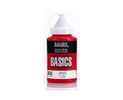 Basics 400Ml Primary Red 415