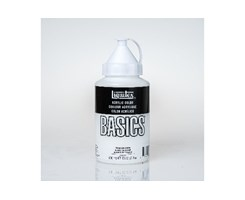 Basics 400Ml Titanium White 432