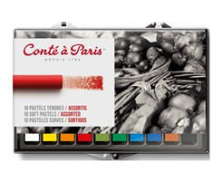 CONTE SOFT PASTEL SET 10 ASSORTED